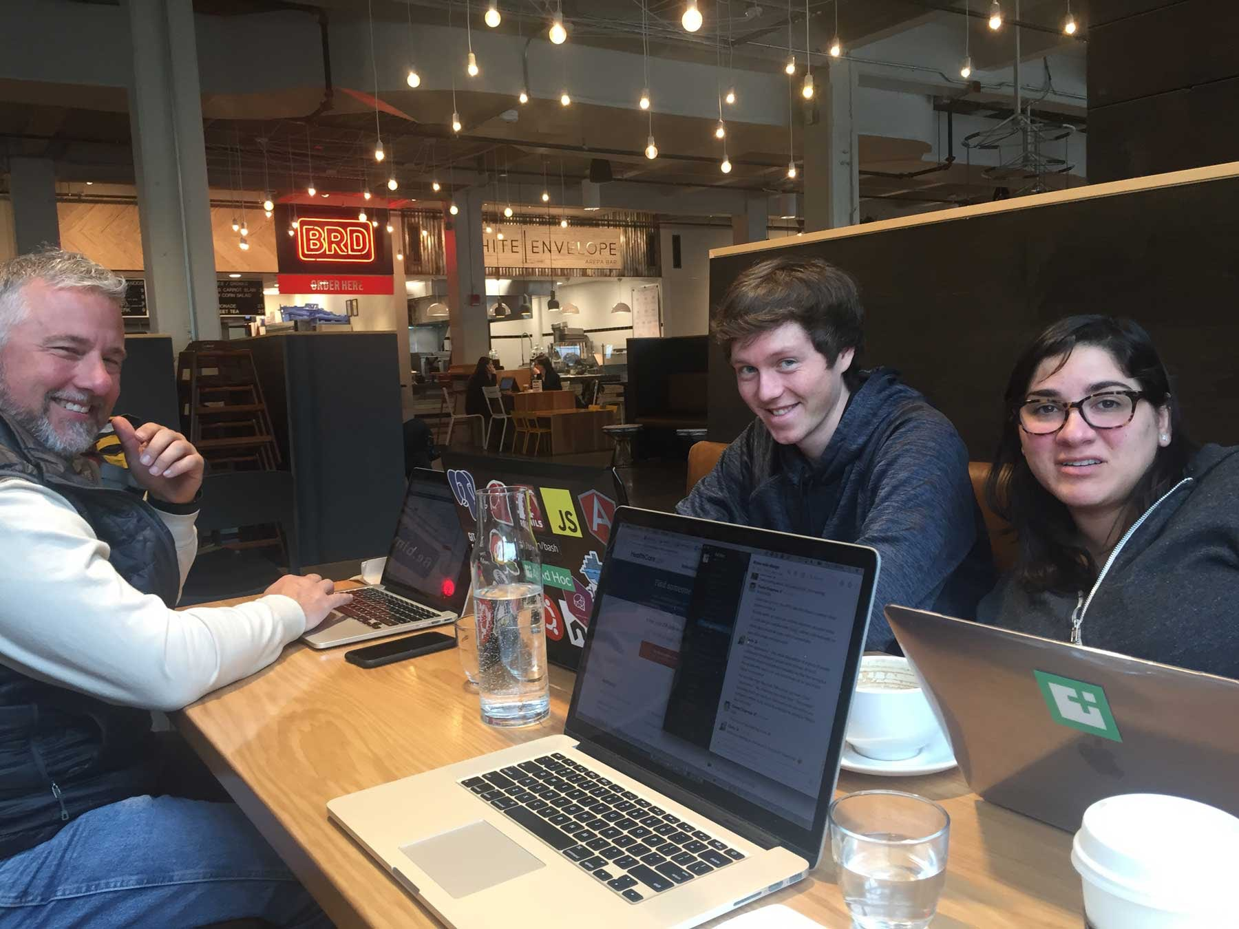 Coworking (with coffee!)