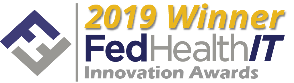 The 2019 FedHealthIT Innovation Award logo